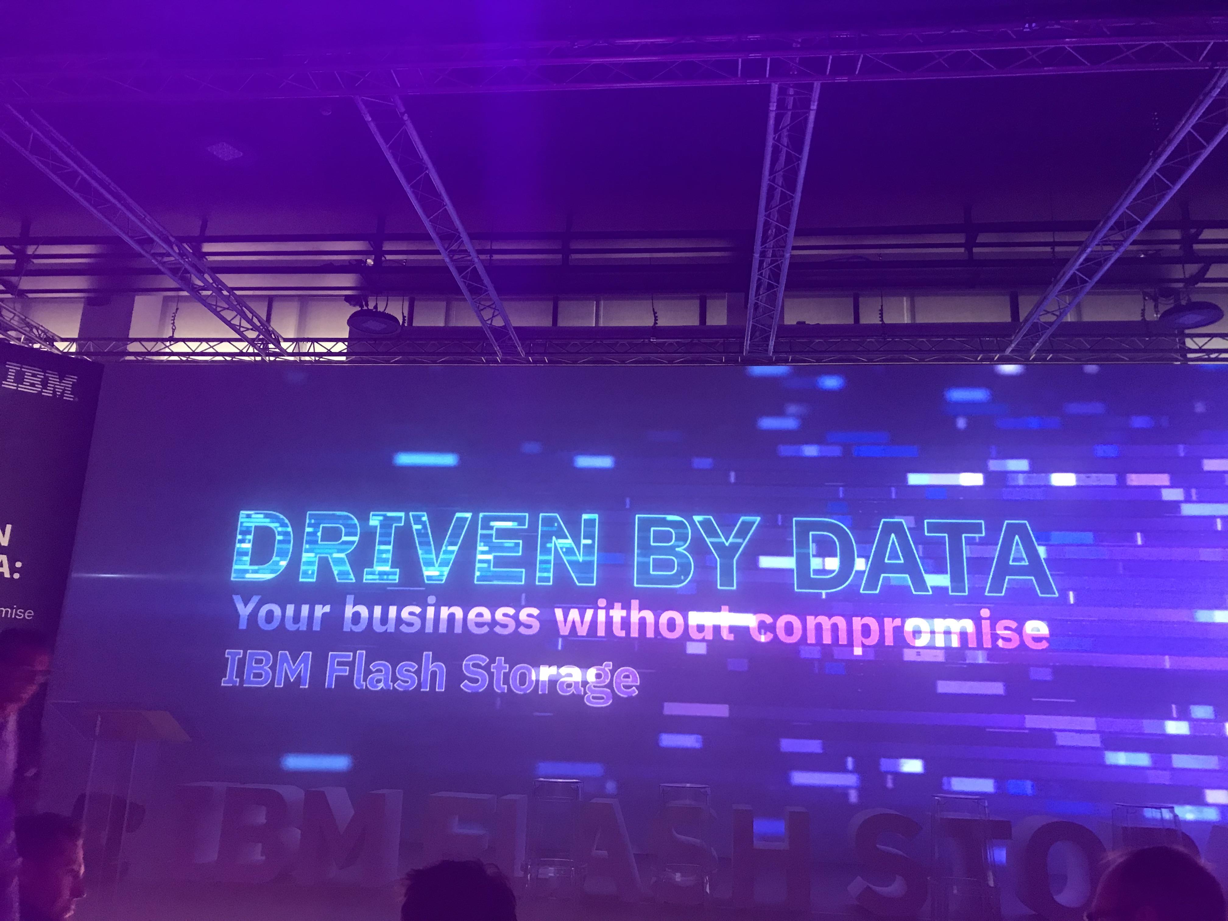 IBM driven by data