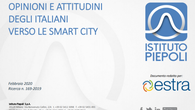 Estra e Istituto Piepoli Smart City