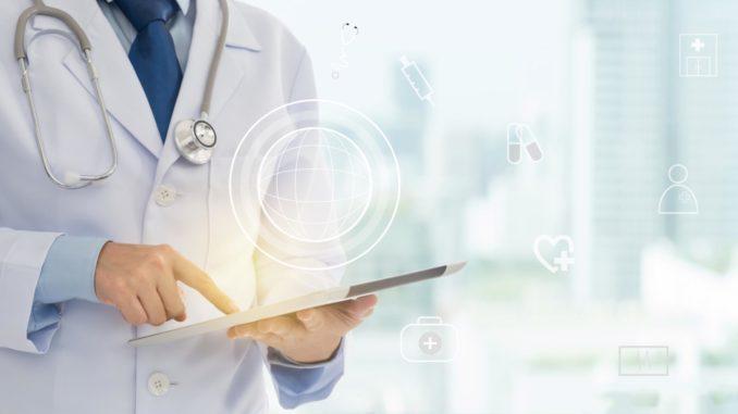 concept di telemedicina dati sanita territoriale