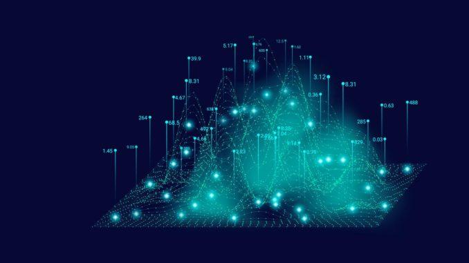 grafico tridimensionale dhe mostra dei dati
